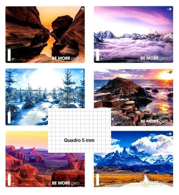 Quadretti 5 mm 10 x 0112962 GEO Quaderno Maxi A4 5M